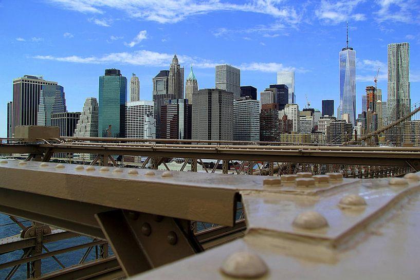 Manhattan Skyline New York von Patrick Lohmüller