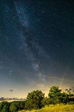Melkweg vanaf Ameland van Sebastiaan Duijff