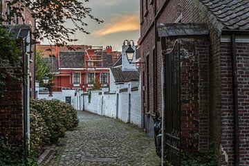 Der kleine Beginenhof in Gent, Belgien von Maarten Hoek