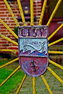 Portail de jardin sur Sylt