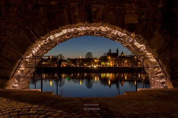 zicht op Maastricht van Ronenvief