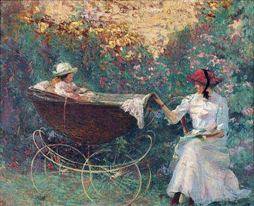 Kinderwagen, 1911 - 1916 von Atelier Liesjes