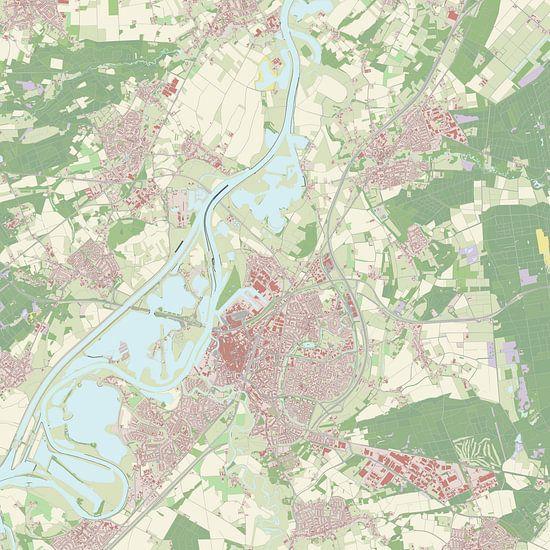 Kaart vanRoermond
