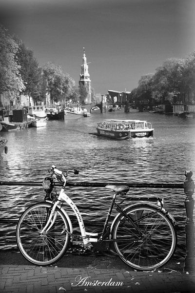 Binnenstad van  Amsterdam van Hendrik-Jan Kornelis