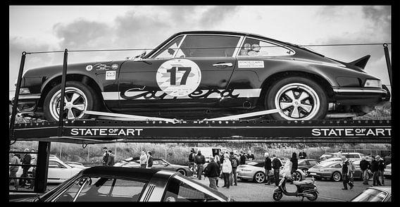 Historische Auto van Yvon van der Wijk