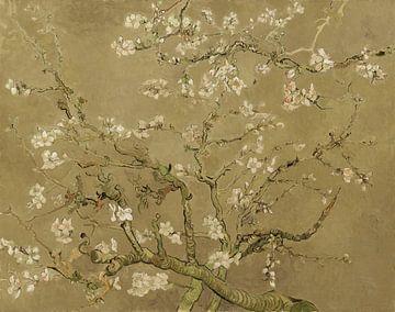 Mandelblüte von Vincent van Gogh (Khaki)