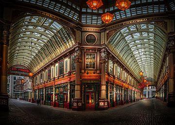 Leadenhall Market in Londen van Rene Siebring