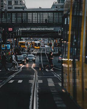 Berlijn Friedrichstraße van Robin Berndt