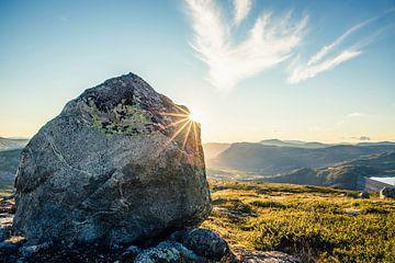 Noorwegen 'The Rock' van Jelmer de Groot