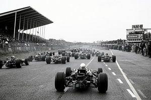 Début du Grand Prix 1968 à Zandvoort