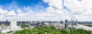 Panorama Rotterdam van Frenk Volt