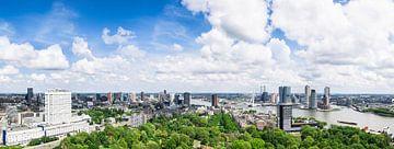 Vue panoramique Rotterdam sur Frenk Volt