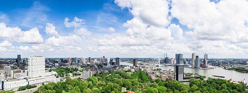 Panoramablick auf Rotterdam von Frenk Volt