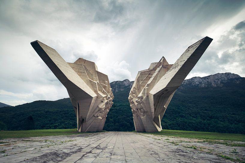 monument wings van Kristof Ven