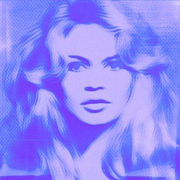 Brigitte Bardot - 3 D View  - Baby Soft Lila van Felix von Altersheim