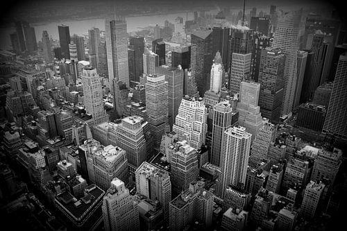Manhattan New York von Bo Wijnakker