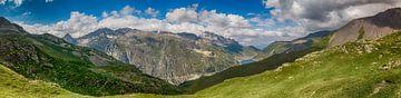 Panorama vom Col du Sabot aus von Joran Maaswinkel
