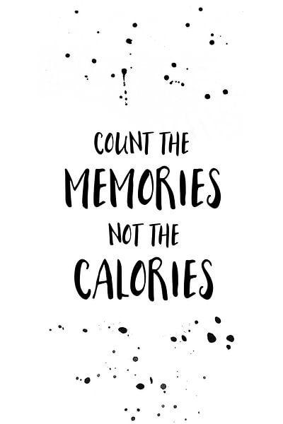 COUNT THE MEMORIES von Melanie Viola