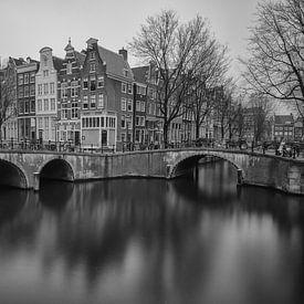 Stadsgezicht Amsterdam van Albert Mendelewski