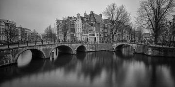 Paysage urbain Amsterdam sur Albert Mendelewski