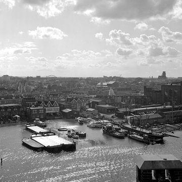 Chantiers navals de la ville de Dordrecht sur Dordrecht van Vroeger