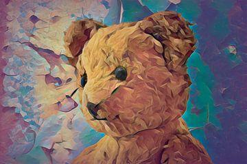 Teddybeer uit de 60-er jaren van