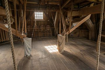 Interieur molen Bataaf in Winterswijk  von Tonko Oosterink
