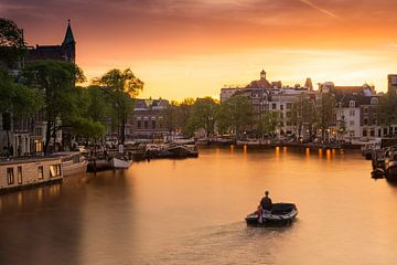 Amsterdamer Grachten von Albert Dros