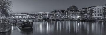Magere Brug und die Amstel in Amsterdam am Abend  sur Tux Photography