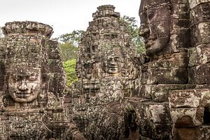 Cambodja   Angkor Thom   Tempel van Mrs van Aalst