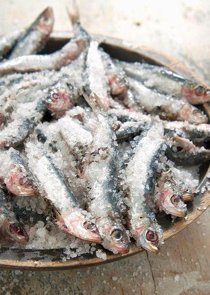 Sardinen in zeezout van Liesbeth Govers voor omdewest.com