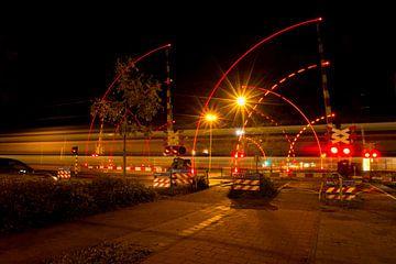 Lijnenspel spoorwegovergang van FotoBob