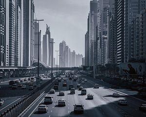 Snelweg door Dubai
