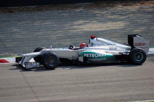 Michael Schumacher Monza 2012 van
