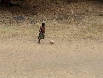 'Voetbal', Tanzania van Martine Joanne
