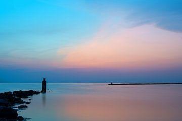 Een avond aan zee