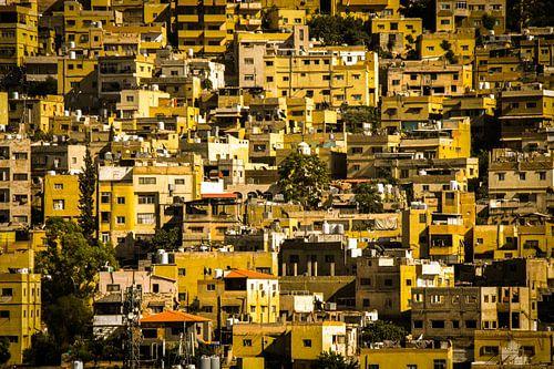 Huizen in Amman van Jeroen Bussers