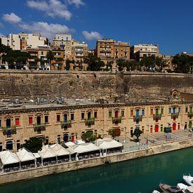 Valletta Harbour - Hafen von Valletta von Christiane Schulze