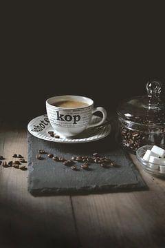 Koffie in low-key van Moody Food & Flower Shop