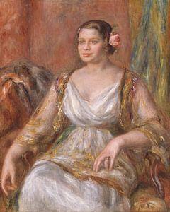 Tilla Durieux (Ottilie Godeffroy, 1880-1971), Auguste Renoir