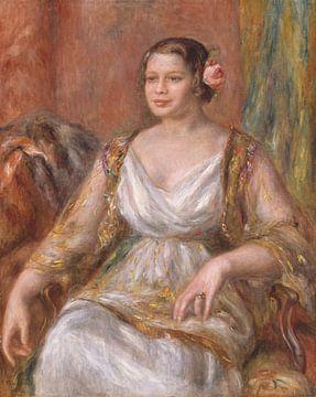 Tilla Durieux (Ottilie Godeffroy, 1880-1971), Auguste Renoir sur