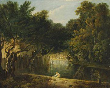 Blick auf die Wildnis im St. James's Park, Richard Parkes Bonington