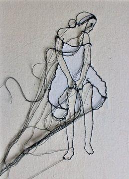 'Wondering Girl' van Kim Rijntjes