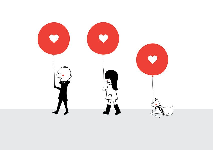 Red Balloon van Jun-Yi Lee