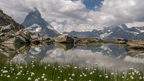 Zicht op de Matterhorn van