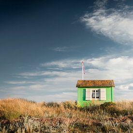 Beachhouse dans les dunes sur Claire Droppert