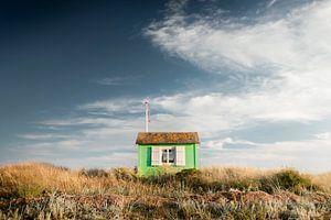 Strandhaus in den Dünen von Claire Droppert
