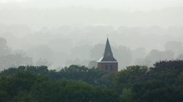 Kerktoren Lunteren van Wilbert Van Veldhuizen