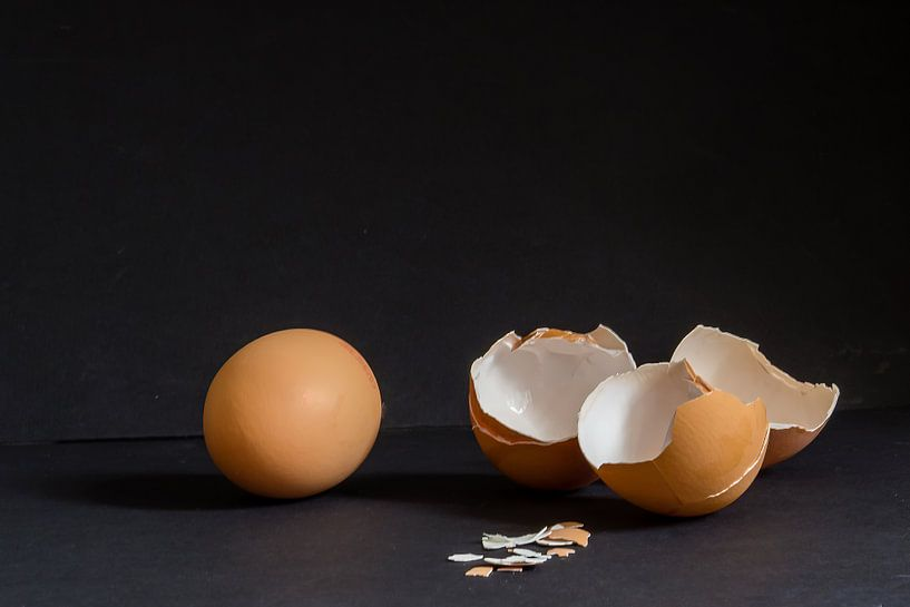 Stilleven met Eieren van Els Hattink