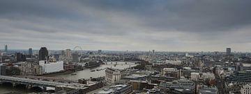 London skyline van Leonie Versantvoort